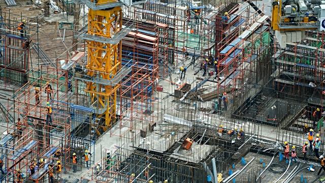 TimeLapse Construction Video