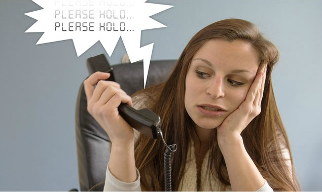 telephone hold message