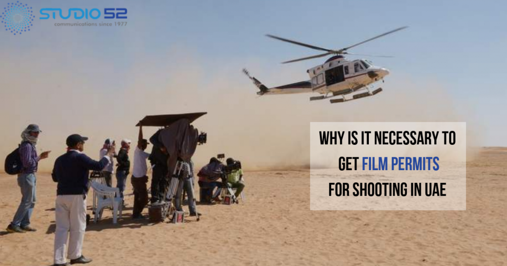 Filming & Photography in UAE