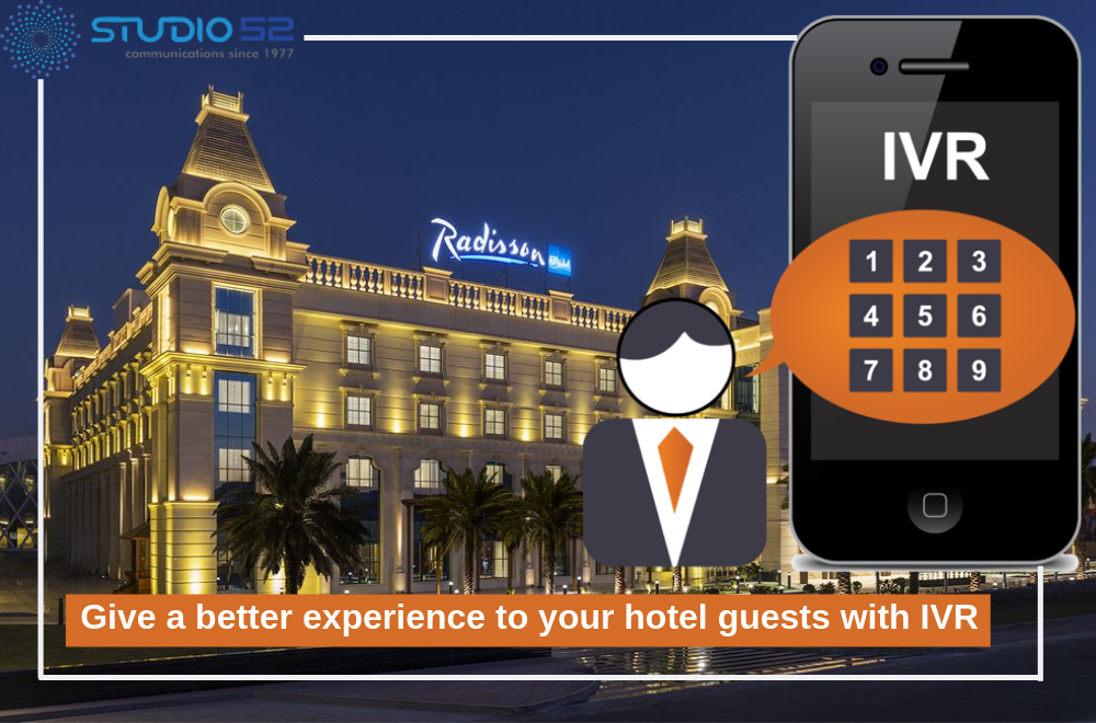 IVR Recording for hotels