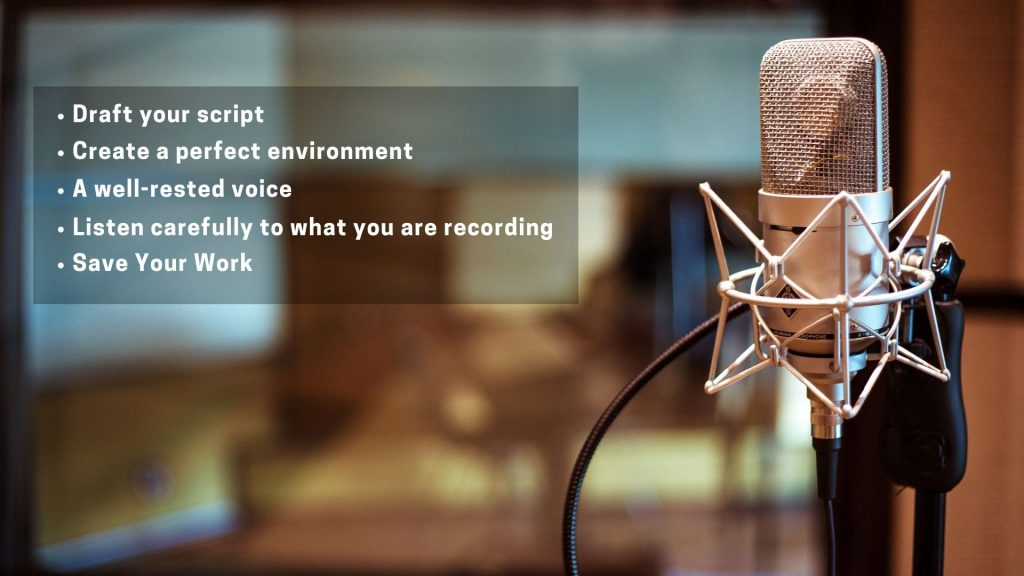 5 most important tips to achieve a high-quality voice-over- studio52