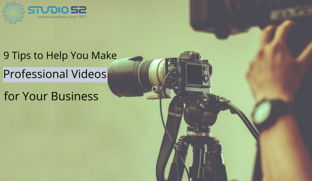 Professional Videos for Your Business