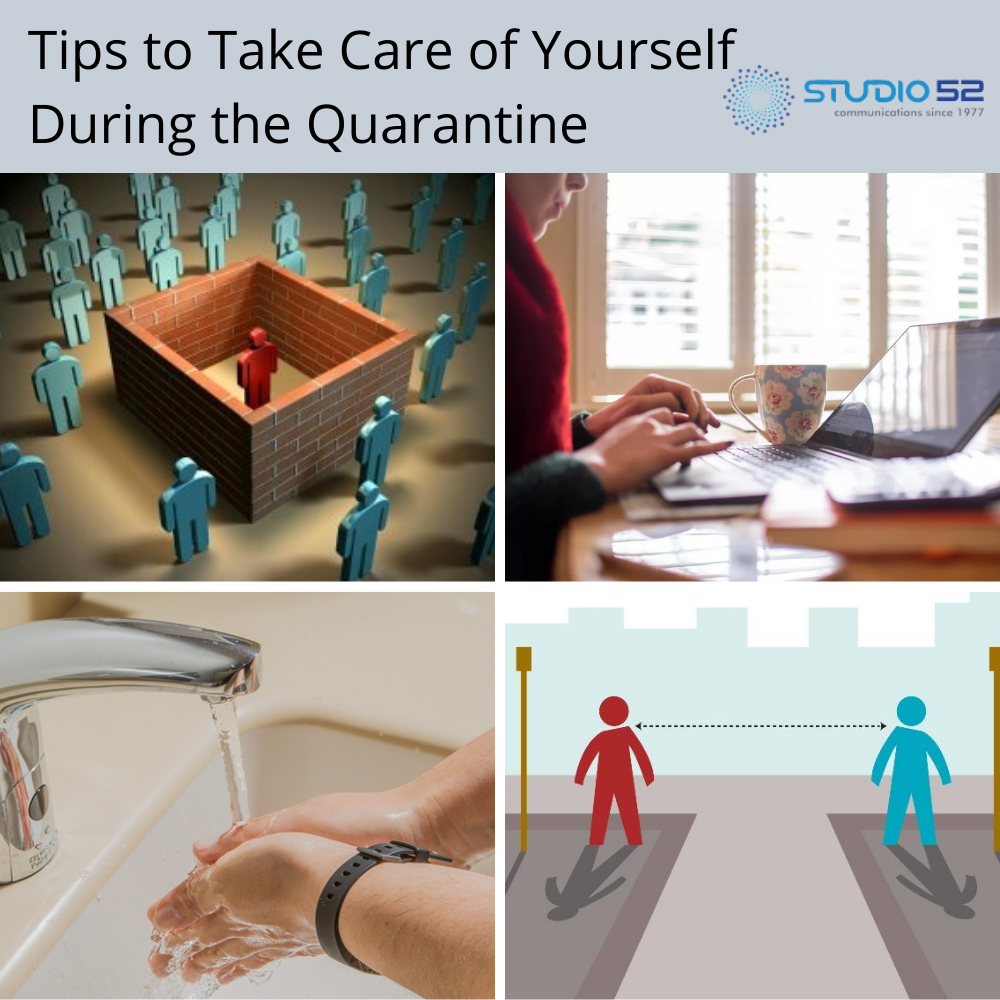 Tips to Take Care of Yourself During the Quarantine