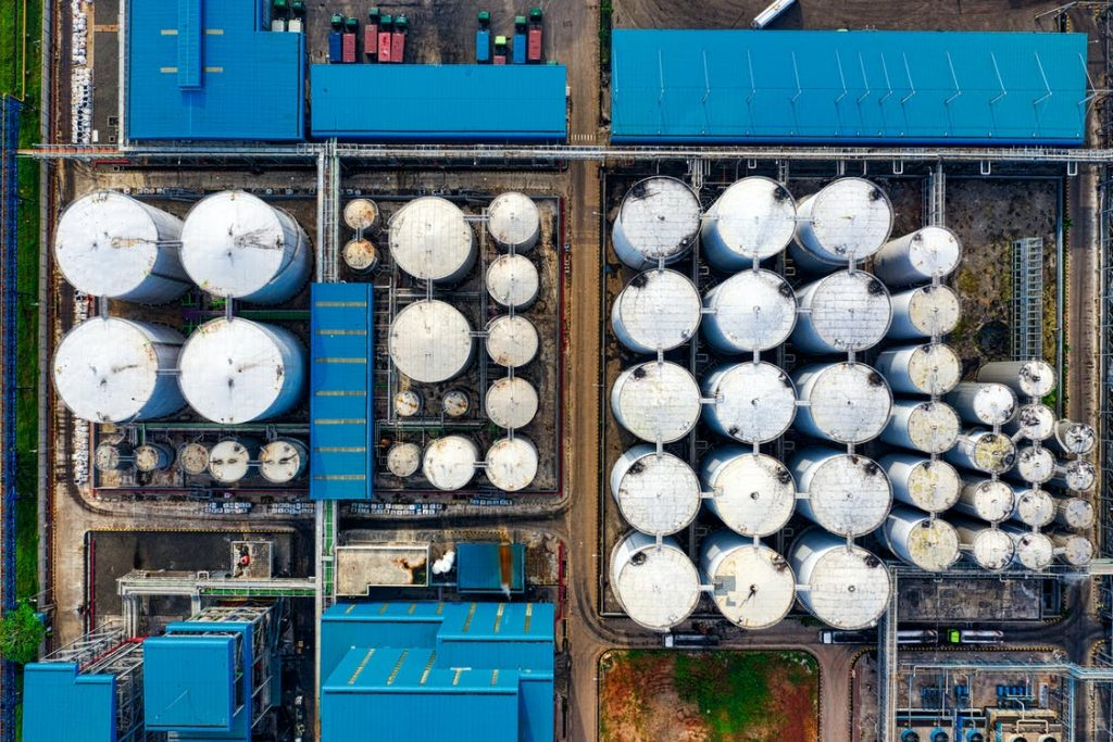 Oil & Gas Industry aerial photography