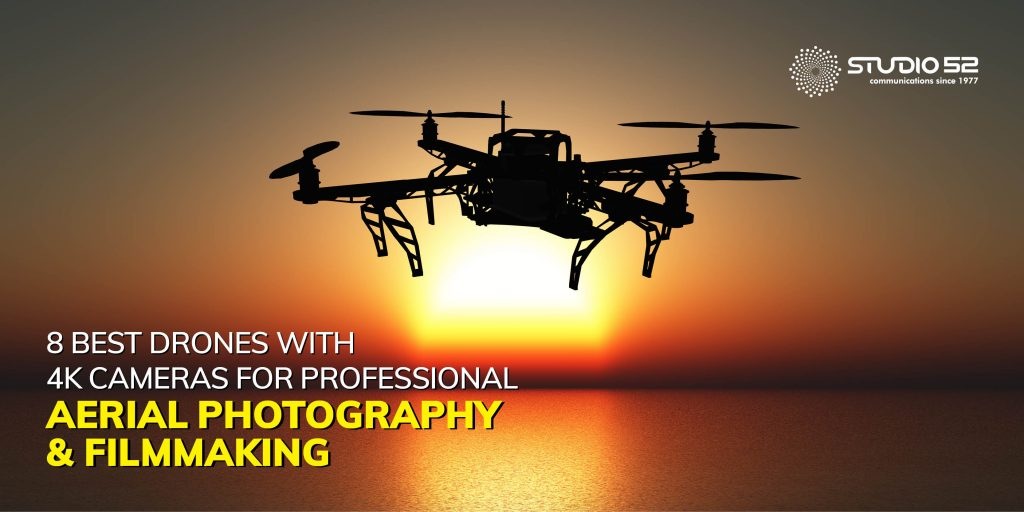 8 Best Drones with 4K Cameras for Professional Aerial Photography and Filmmaking