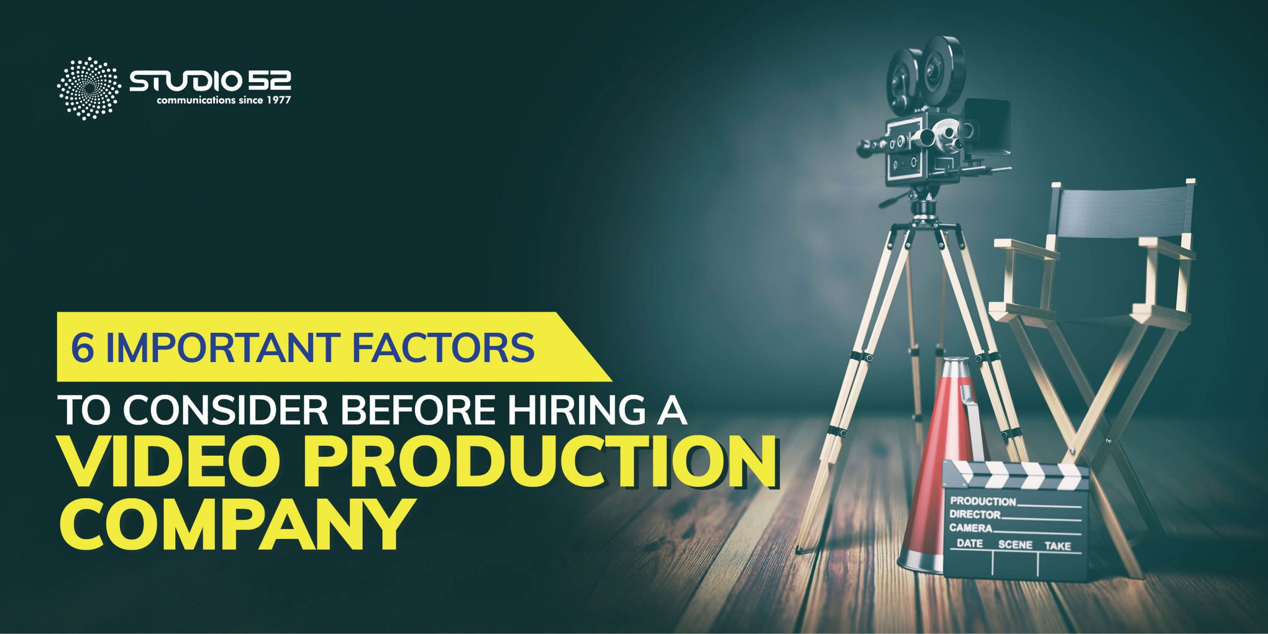 6 Important Aspects When Hiring a Video Production Company for Your Business