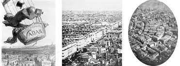 The very first aerial photograph was a view of the village Petit-Becetre in France