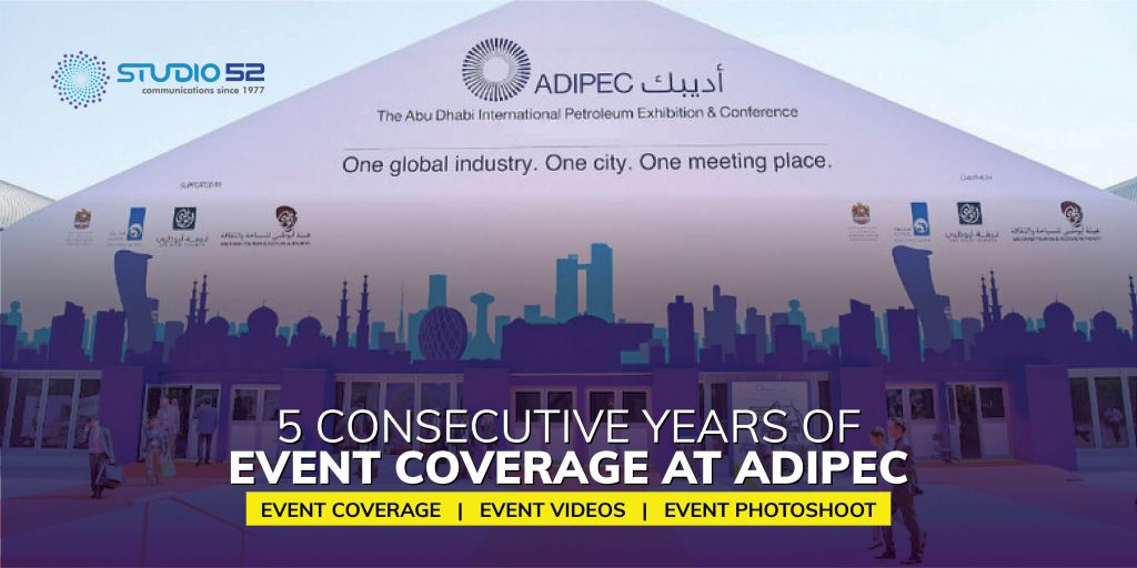 5 Consecutive Years of Event Coverage at ADIPEC