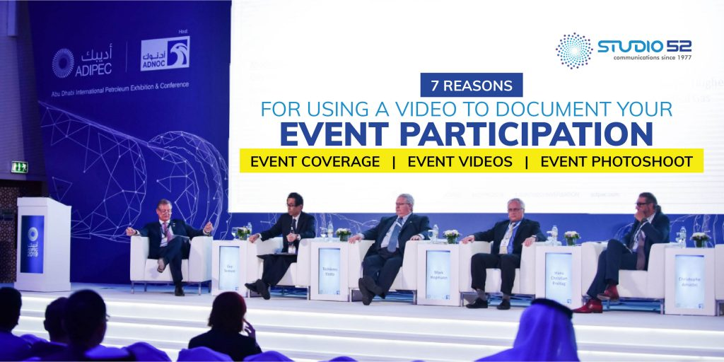 7 Reasons for Using a Video to Document Your Event Participation