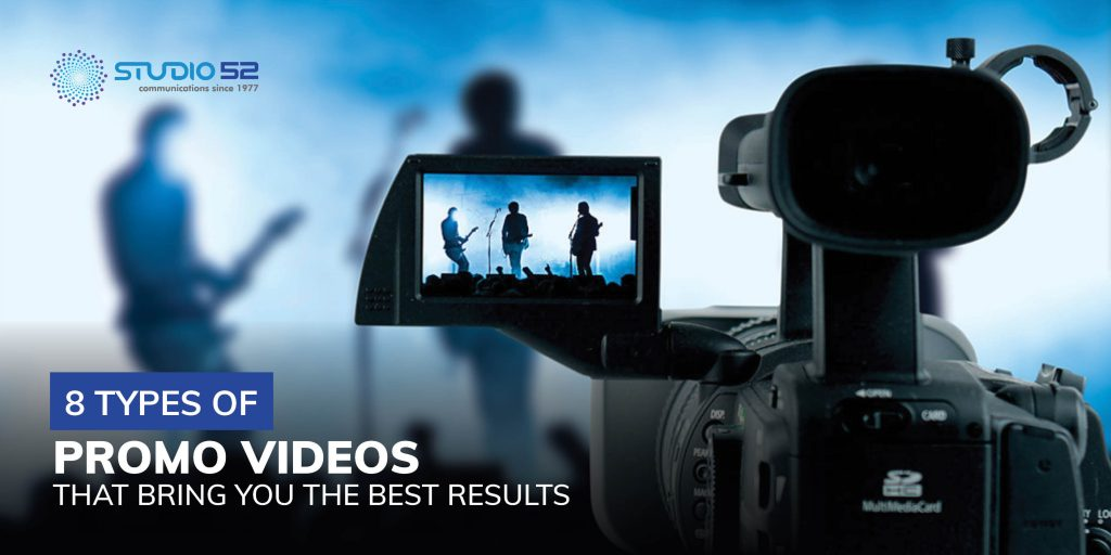 8 Types of Promo Videos that bring you the best results