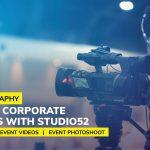 Event Videography: Capturing Corporate Milestones with Studio52