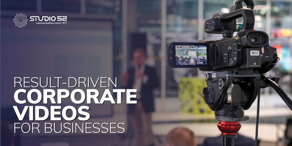 Result-driven Corporate Videos for Businesses