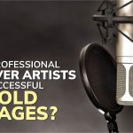 Why do professional voiceover artists create successful on-hold messages